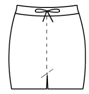 Drawstring Hot Pants