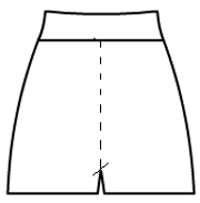Basic Shorts with Rollover Waistband