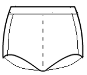 Side accent boy cut shorts with 1