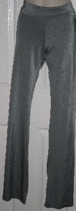 Jazz pants with rollover waistband