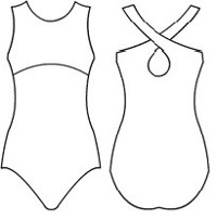 Empire Crossback Leotard